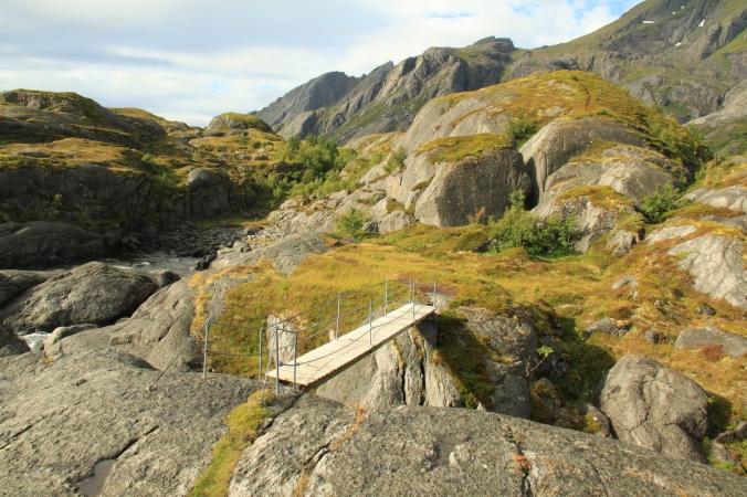 Foto de las islas Lofoten